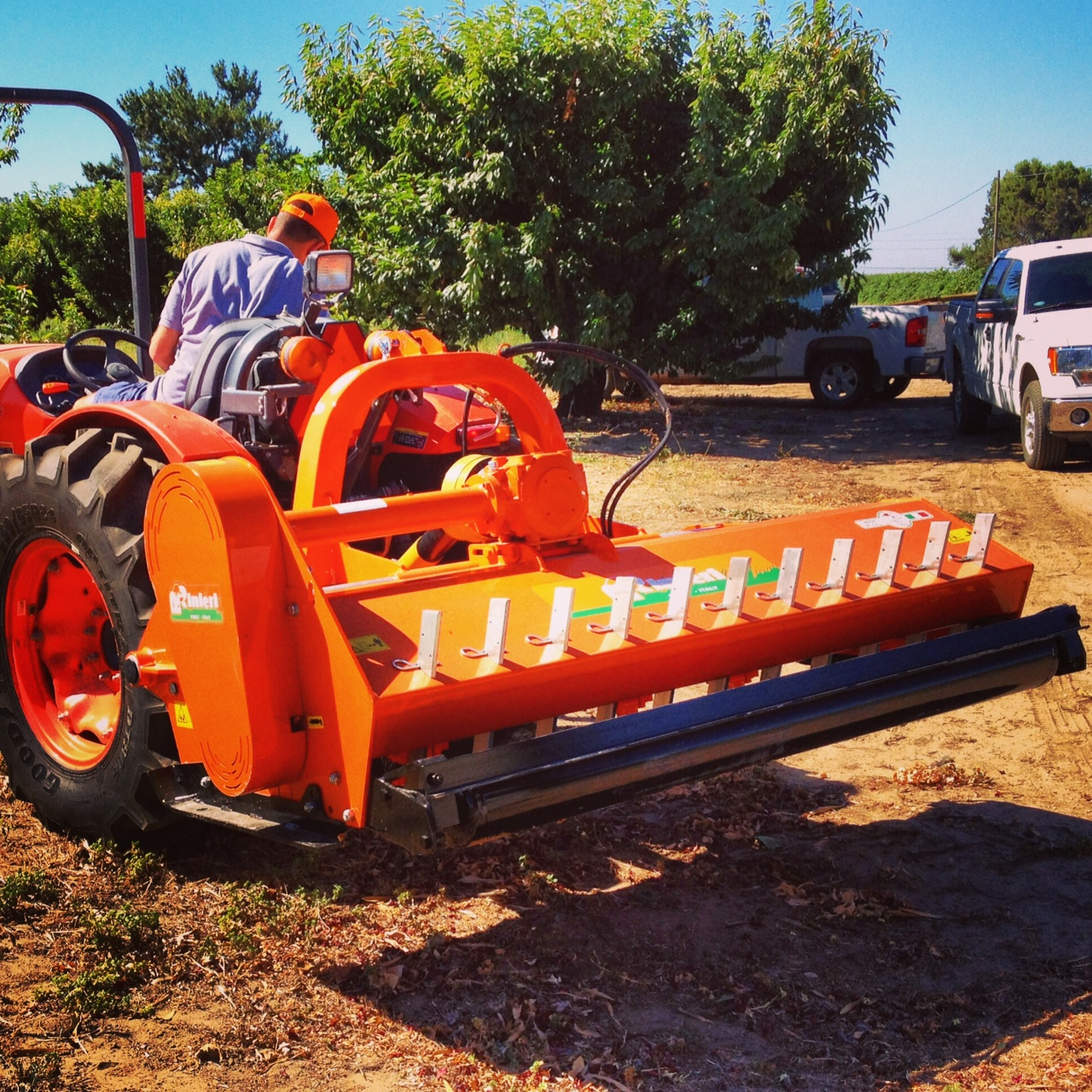 Vineyard Mowers - Saint Helena Agricultural Services